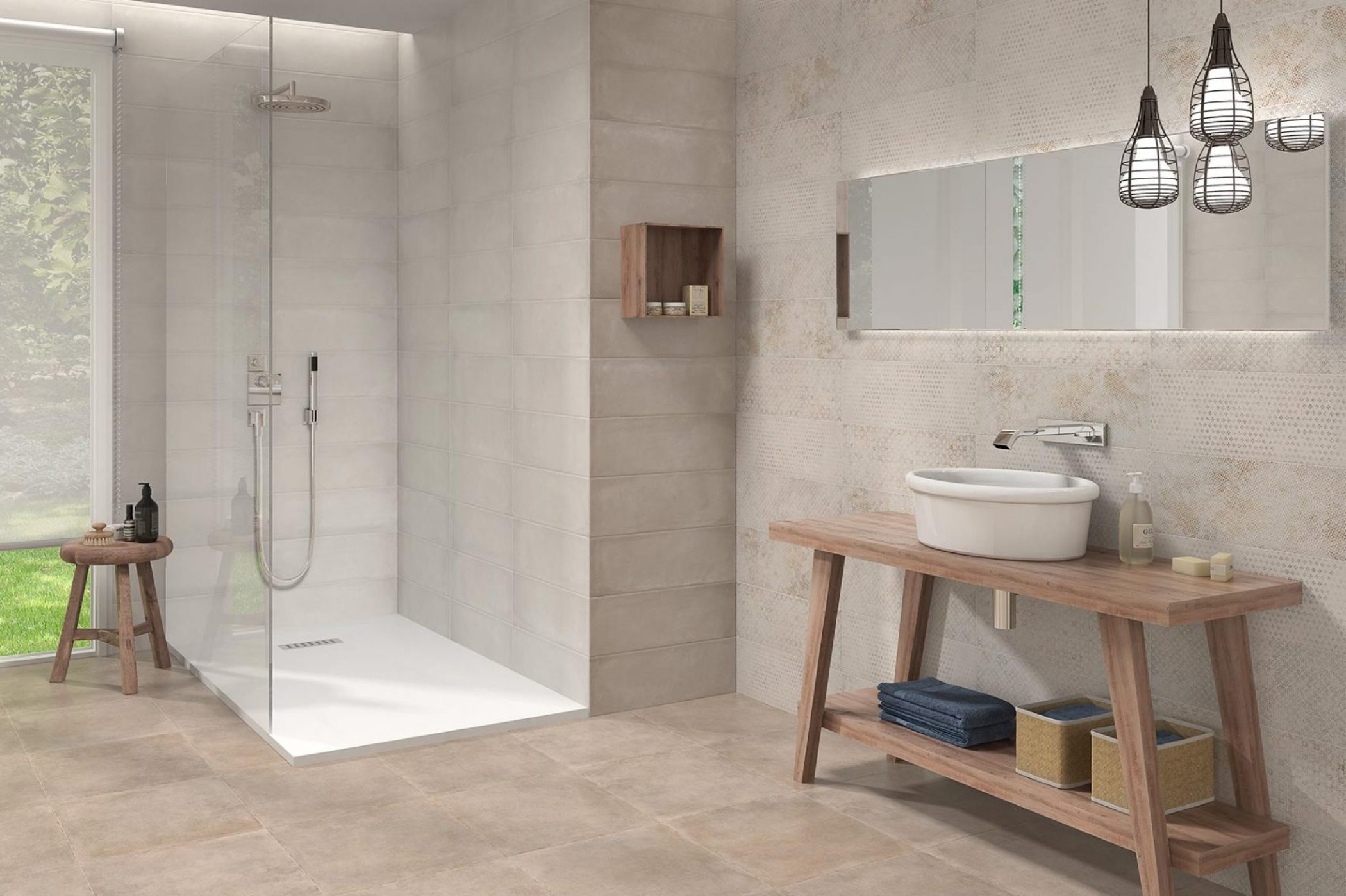 Perfect Salle De Bain Inspiration Carrelage